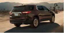 Аэродинамика Chevrolet Traverse