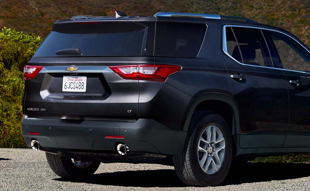 Обновленный кузов Chevrolet Traverse